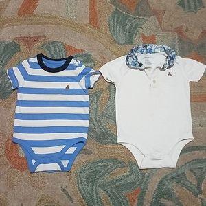 GAP 6-12M baby onesie shirts
